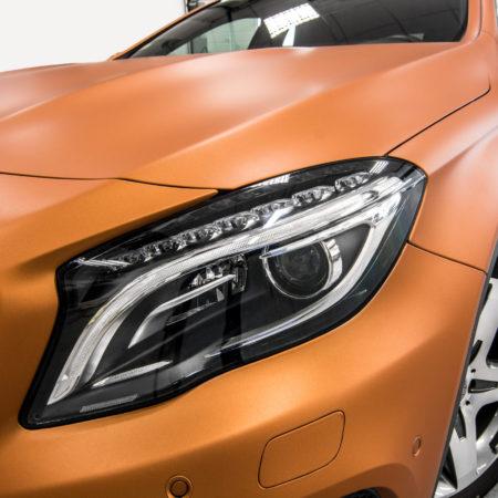 Galerie orange glaze mettalic matt